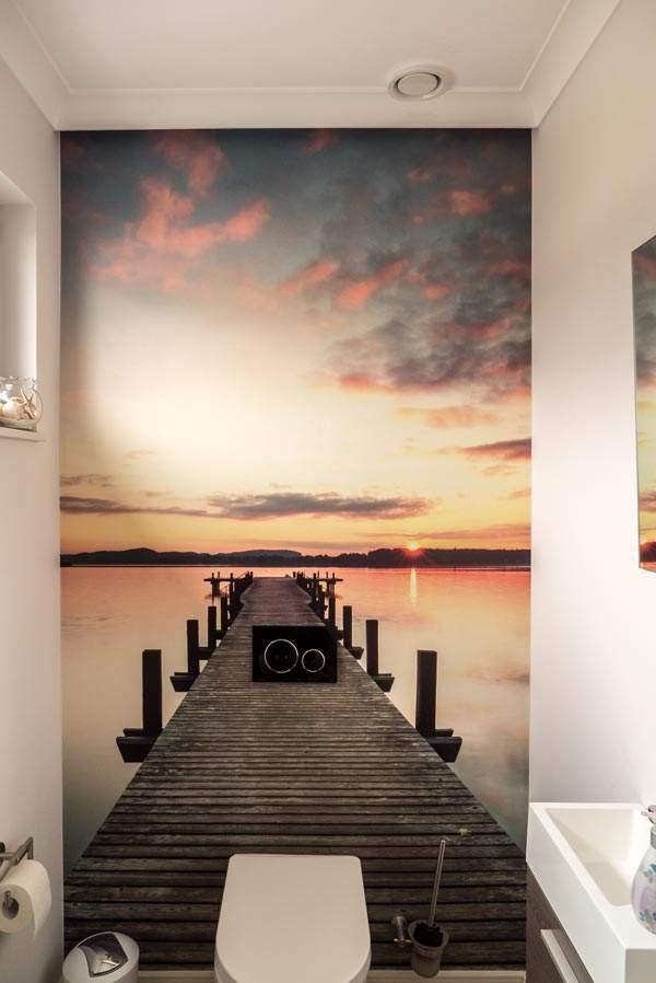 g ste wc fototapete wandwerk verden. Black Bedroom Furniture Sets. Home Design Ideas